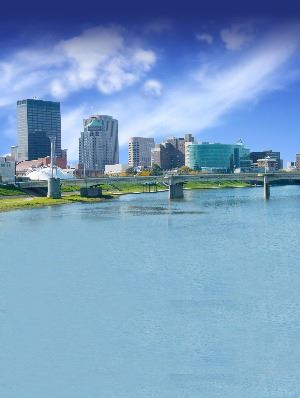 DowntownDayton-River